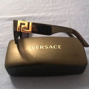 Versace Sunglasses unisex new With case